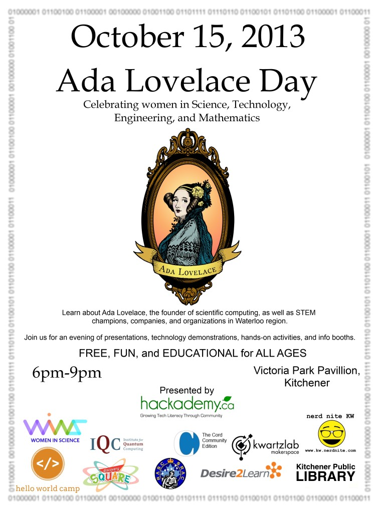 Ada Lovelace Day poster